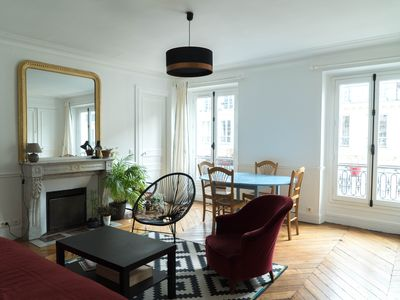 Photo for Nice Haussmann style apartment, Center of Paris