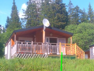 Photo for Individual Wood Chalet 4/6 people, fully equipped, nice terrace
