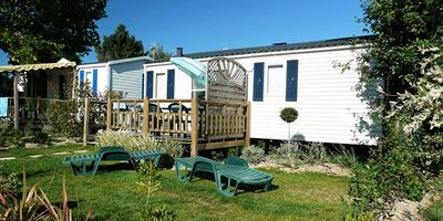 Photo for Camping Bellevue **** - Mobile Home 3 Rooms 6 People