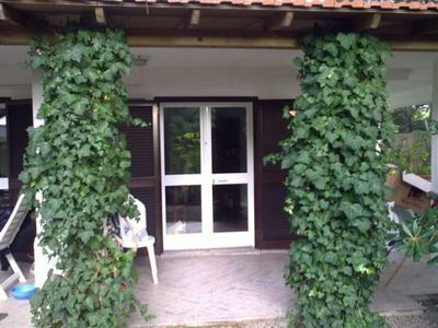 Photo for Holiday Apartment with Garden, Terrace and Wi-Fi; Pets allowed