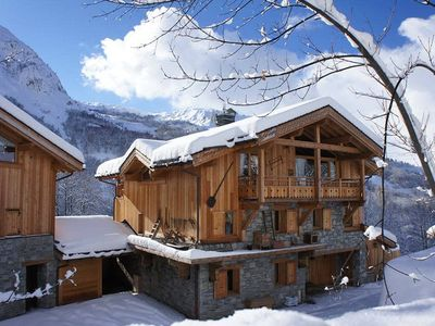 Photo for La Joubarbe Rose, ski at your foot chalet
