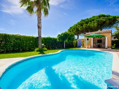 "Photo for PRIVATE SWIMMING POOL WITH POOL HOUSE STANDING LOCATION ""Olive Blue-cogolin"" Bea"
