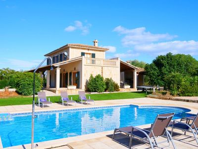 Photo for Finca 10 minutes from the sea spacious, terrace, private pool, garden, AACC, Wif