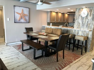 Photo for TOTALLY RENOVATED UNIT WITH A MODERN COASTAL DESIGN.