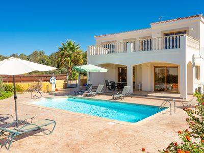 Photo for Hector Beach Villa: Large Private Pool, Walk to Beach, Sea Views, A/C, WiFi, Car Not Required