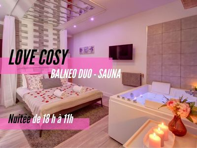 Photo for LOVE COSY - NIGHT -  FROM 17h AT 11h ★ COSY & CLEAN ★
