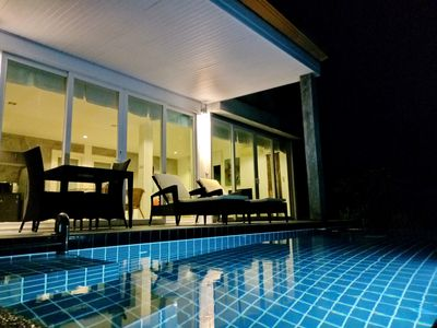 Photo for Romantic Beach-Front Pool Villa-2