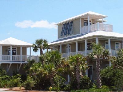 Photo for 100 yards to beach, .5mi to Seaside,  PRIVATE HEATED POOL,