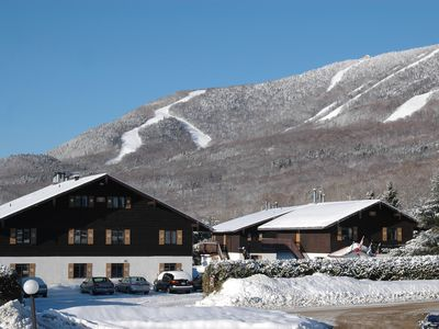 Photo for 3 bdr condo Mont Sainte-Anne ,30 min Quebec City,  Le Massif ski