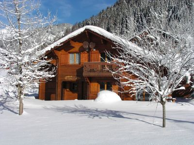 Photo for Independant chalet, Portes du Soleil Ski area, La Chapelle d'Abondance