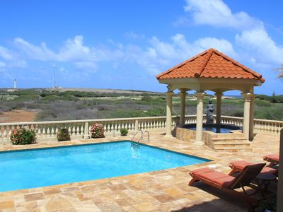 Photo for Tierra del Sol Luxurious Mansion with a magnificent view of Aruba & the Ocean