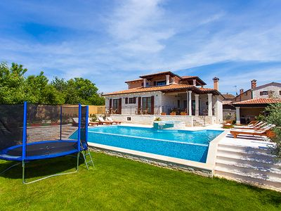 Photo for BEAUTIFUL NEW VILLA WITH SEA VIEW , PRIVATE POOL AND JACUZZI
