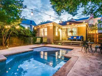Photo for Uptown Dallas Pool House