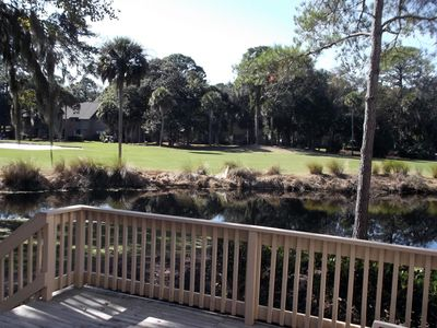 Photo for 3 BR- Nearest to Beach on Lagoon w/Golf View & 2 Private Deck