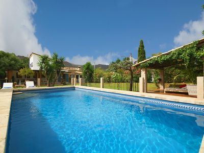 Photo for Family villa with heated pool in Pollença