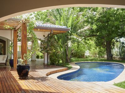 Photo for Oceanfront private Villa with 10 Bedrooms right on Tamarindo Beach