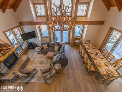 Photo for NEWLY RENOVATED- Gorgeous Home Near Big Sky Resort! Views, Hot Tub, & More!