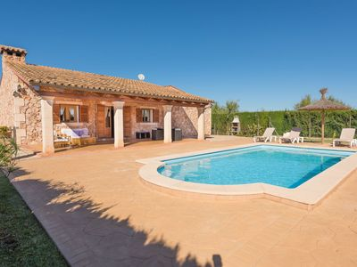 Photo for Beautiful private villa for 4 guests with A/C, private pool, WIFI, TV, balcony and parking