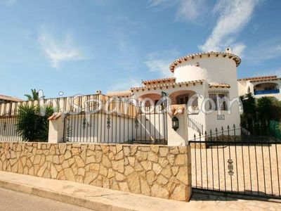 Photo for Southern Spanish villa for rent in Jalon with sea view for 6 persons