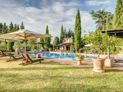 Photo for Villa Gnomone is located in an ancient estate surrounded by Tuscan countryside.