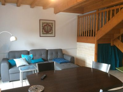 Photo for T3 duplex terrace wifi, accepted holiday checks, private parking