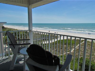 Photo for Last Minute Cancellation - Beachfront Penthouse on Indian Rocks