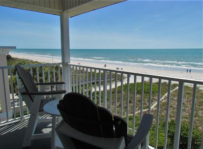 Indian Rocks Beach From The Private, Top Floor Balcony. Gorgeous - Indian Rocks Beach From The Private, Top Floor Balcony. Gorgeous Sandy Beaches and Crystal Clear Waters!