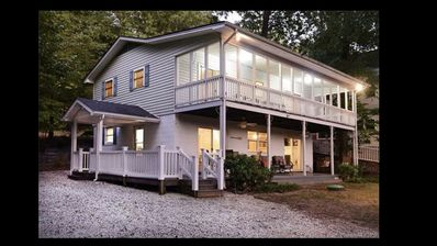 Tranquil Cove *Private Dock *Family Gathering *Fire pit *Dbl Porch *Lg Parking