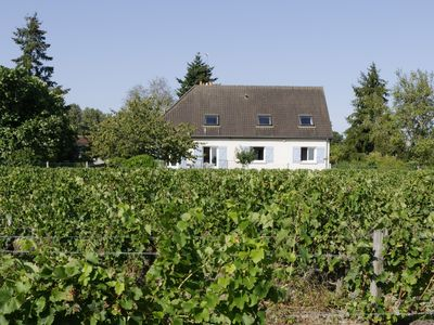 Photo for Near Amboise, quiet and bright cottage-apartment of 120 m2