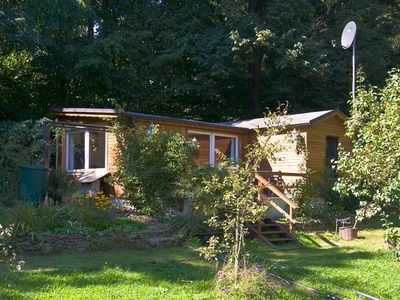 Photo for Vacation home in a peaceful forest area close to Dresden