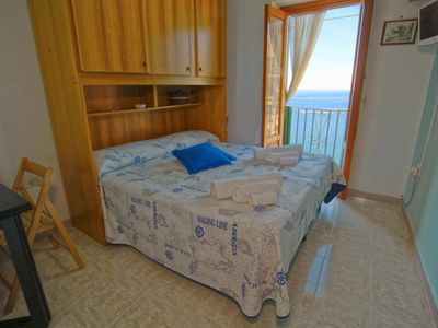 Photo for Annex Rosetta Sea View Bedroom with French Balcony Free Wifi Air Condition