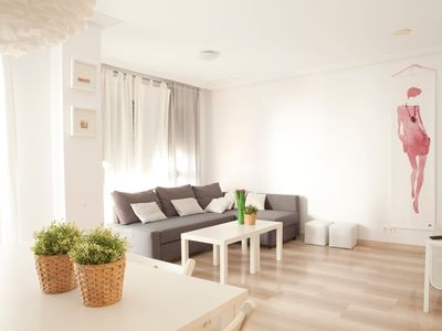 Photo for Sun and beach in a new apartment. WIFI & COMFORTABLE
