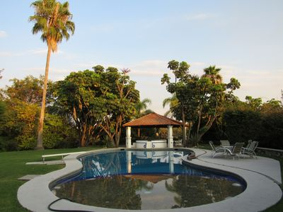Photo for 5,000 Meter Pool, Jacuzzi, And Large Garden Mexican 5,000-Meter Villa
