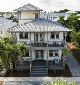 Photo for Ocean Pearl Seacrest Beach Luxury 5 bedroom main house+Carriage House+FREE BIKES