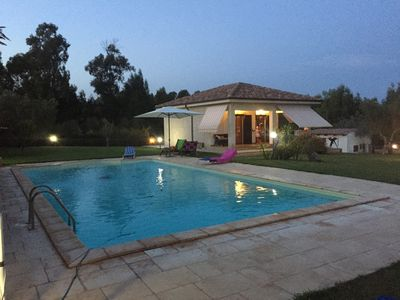 Photo for house surrounded by greenery with pool and 4000 square meters of garden maximum tranquility