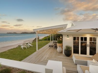 Photo for JUST LISTED - THE TONIC, LUXURY BEACHFRONT HOME,6 Bedrooms & direct beach access