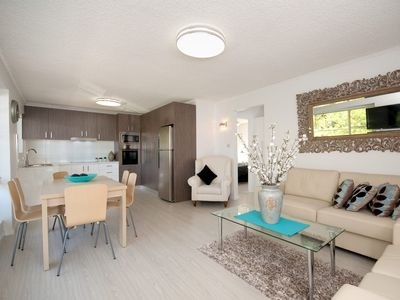 Photo for Beautifully appointed Unit steps away from National Park and Beach