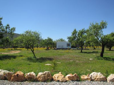 Photo for Casa Da Amêndao a private cottage with natural pool  in almond orchard