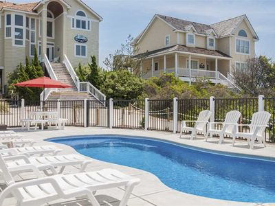 Photo for Staying Gold: Oceanfront, private walkway to the beach, private pool and private hot tub.