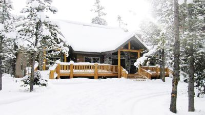 Whispering Pines in Winter