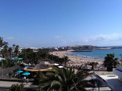 "Photo for Apartment a short walk away (169 m) from the ""Playa Las Cucharas"" in Costa Teguise with Internet, Pool, Balcony (970379)"