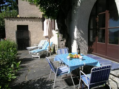 Photo for Idyllic holiday home (part of a house) in a quiet, sunny location above Locarno