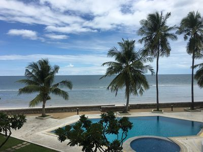 Photo for Beach front prime location w/2bedrooms & NETFLIX