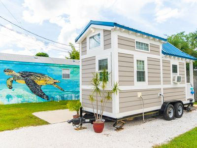 Photo for Tiny House Sea Shell perfectly sleeps 2 and offers cozy beach accommodations