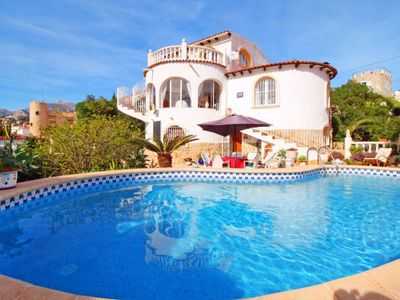 Photo for 2 bedroom Villa, sleeps 5 in Calpe with Pool and WiFi