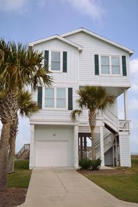 Beach Front House, sleeps 12, Galveston Island, Pointe West Resort