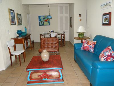 Photo for Ample 3 bedroom apt with well furnished balconies on Praia do Forte