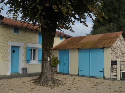 Photo for Lime Tree Gîte is an idyllic retreat for two in a beautiful rural setting.