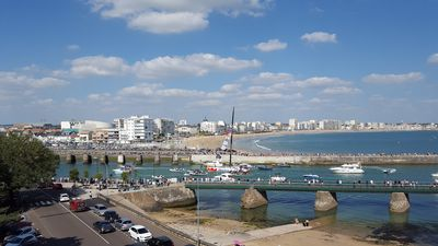Photo for T3 Apartment, sea view, bay of Sables d'Olonne and output port