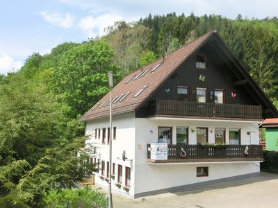 Photo for Large apartment on the edge of the Harz National Park with garden and terrace